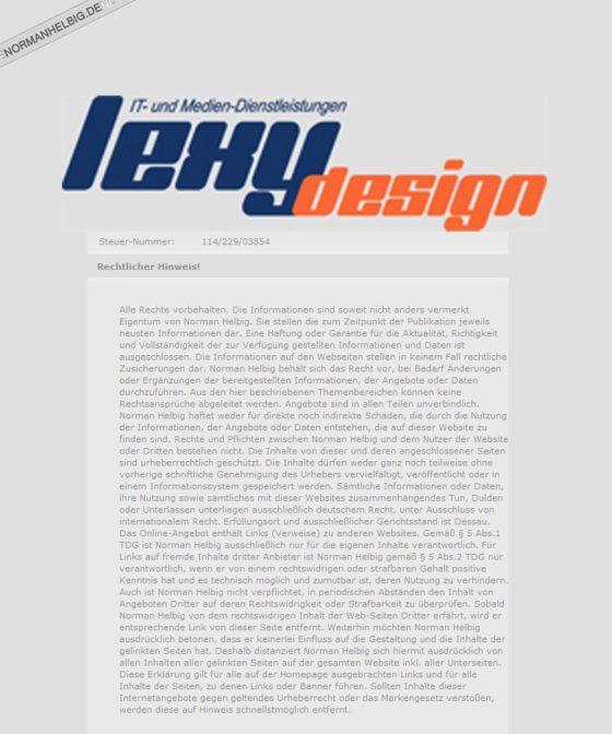 lexydesign.de