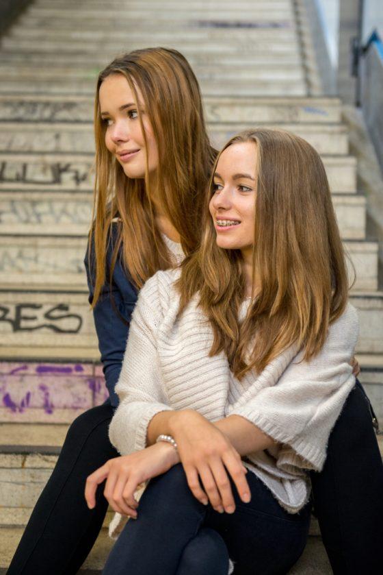 Paula Weiße und Chantale Sieglinksi